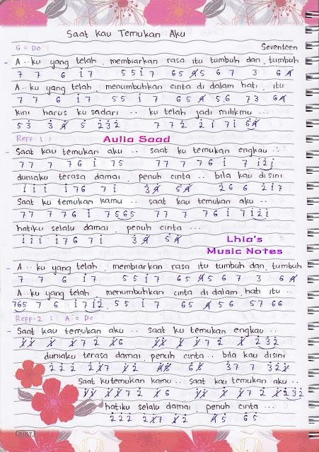 Lirik N Chord Lagu Seventeen Jaga Selalu Hatimu | lirik