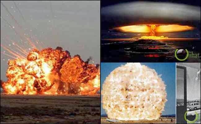 10 Ledakan Maha Dasyat Sealam Semesta