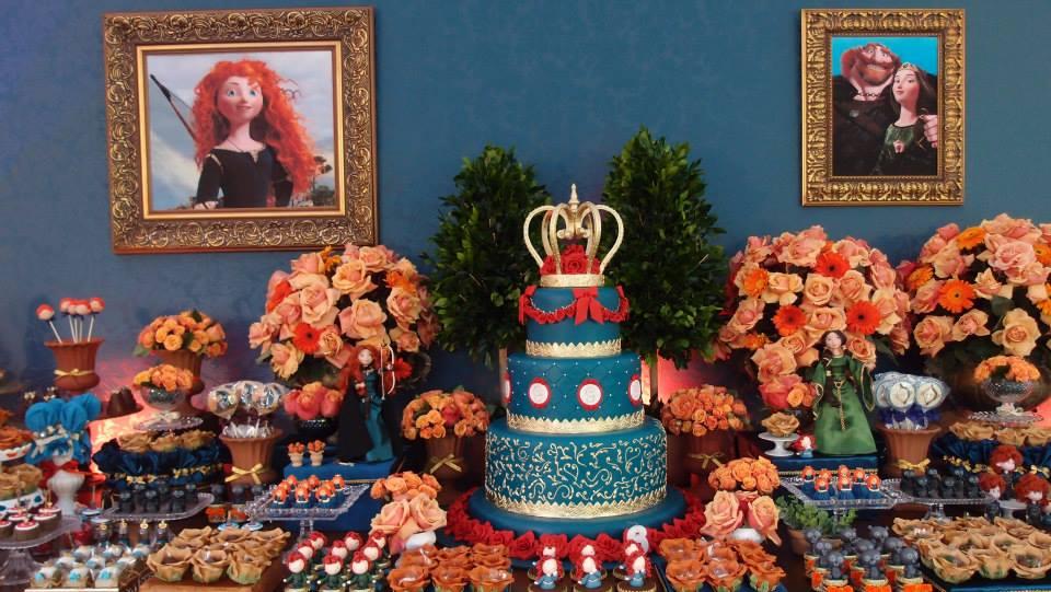 decoracao festa valente:Festa da Princesa Merida!!!