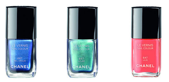 Chanel Le Vernis Summer 2013 Nail Polish L'Ete Papillon de Chanel