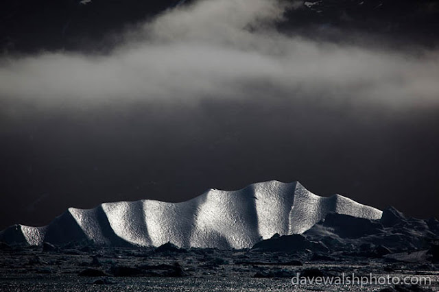 Dave Walsh - Iceberg under cloud, Kangerdlussuaq Fjord, East Greenland