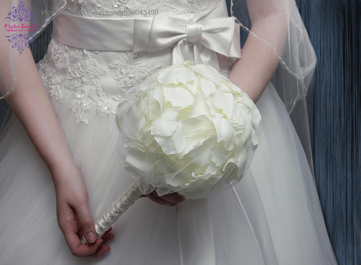 Свадьба в Астрахани: Необычные свадебные букеты