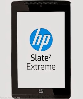 HP Slate 7 Extreme Tablet user guide manual