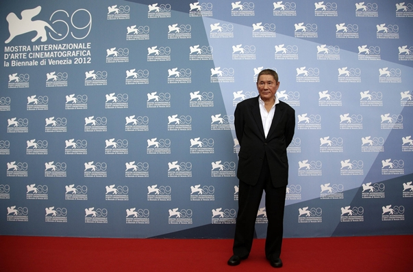 Takeshi Kitano Outrage Beyond photocall