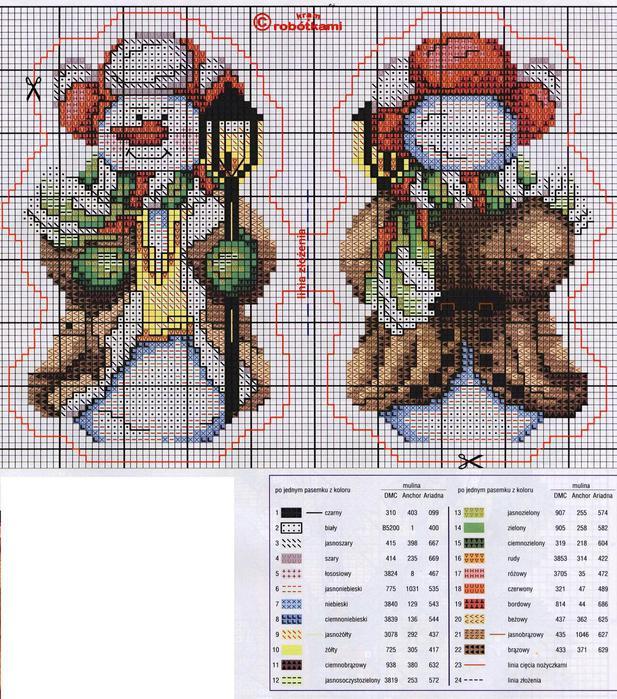 Схема вышивки для офиса 17