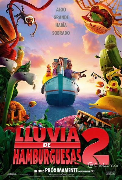 Lluvia de Hamburguesas 2 DVDRip Latino