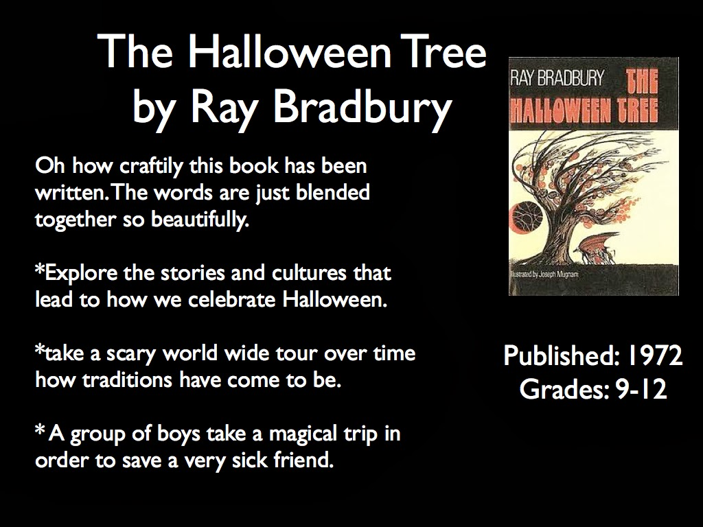 young adult reading machine: the halloween treeray bradbury