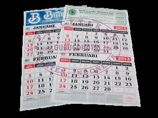 kalender kerja, cetak kalender, kalender 2014, desain kalender