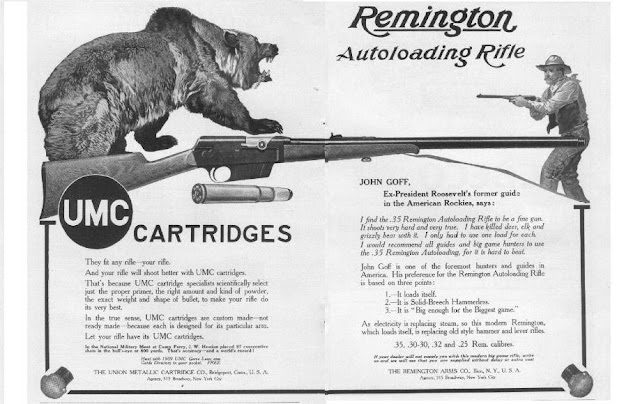 Remington Model 8 Rifle Ad