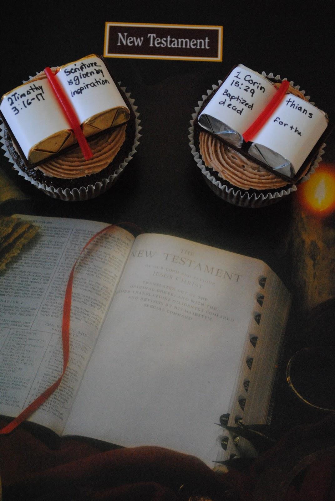 Juli Jacklin\'s Cupcakes: Scripture Mastery Cupcakes