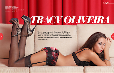 Fotos Tracy Oliveira Hot Magazine