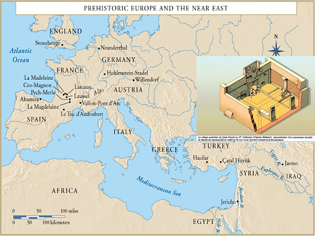 prehistoric Europe and the Near East