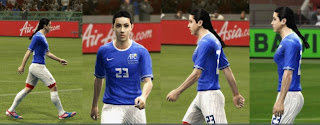 PES 2013 Female Player Model by Zimon