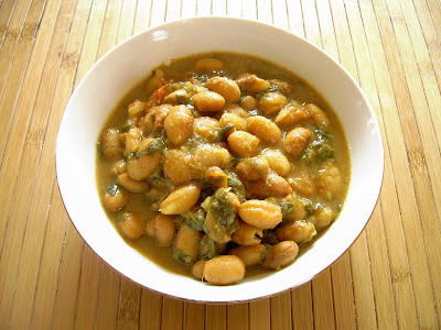 Enjoy Indian Food: Cranberry Beans Curry