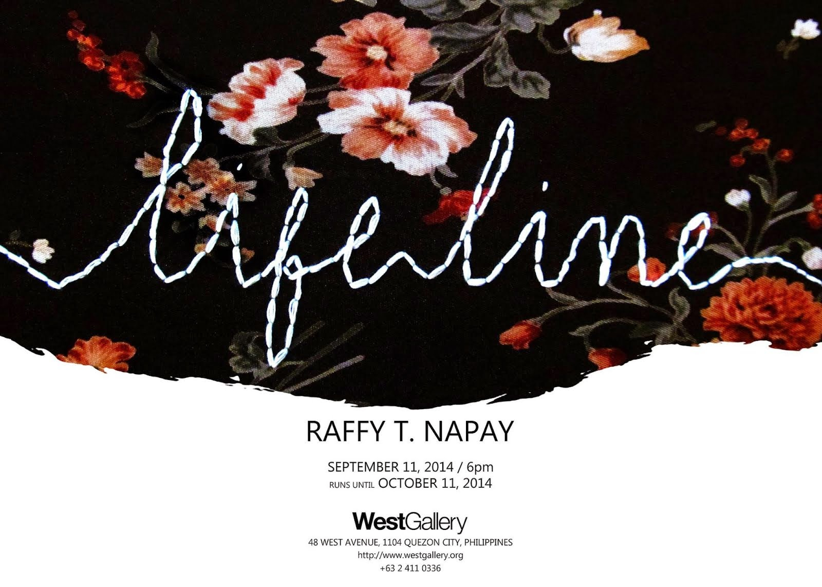 Lifeline: Solo Exhibition by Raffy T. Napay