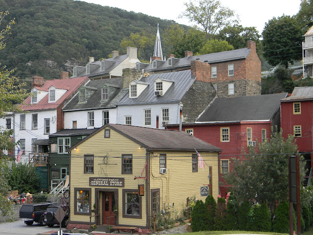 Faded Farmhouse Charm and Harpers Ferry