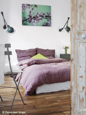 En mi espacio vital muebles recuperados y decoraci n - Dormitorio malva ...