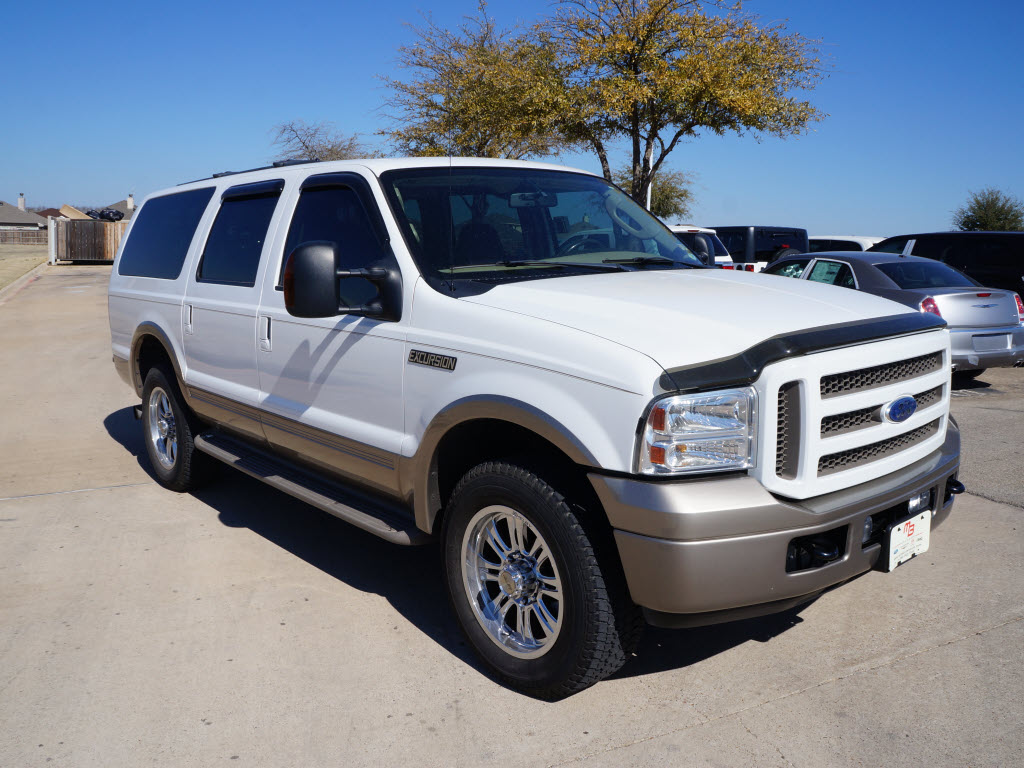 for sale 28 991 2005 ford excursion eddie bauer 6 0l diesel 4x4 only. Cars Review. Best American Auto & Cars Review
