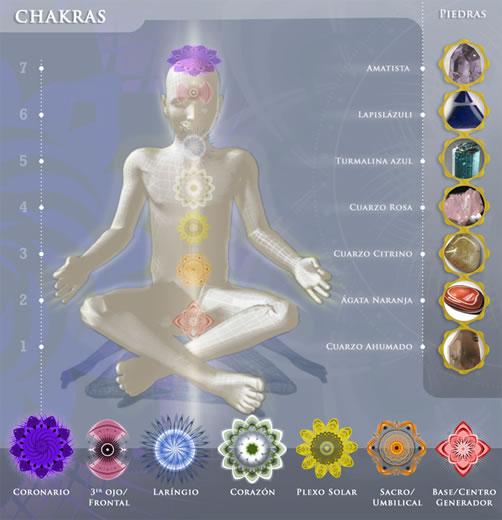 esencia del ser las piedras de los chakras