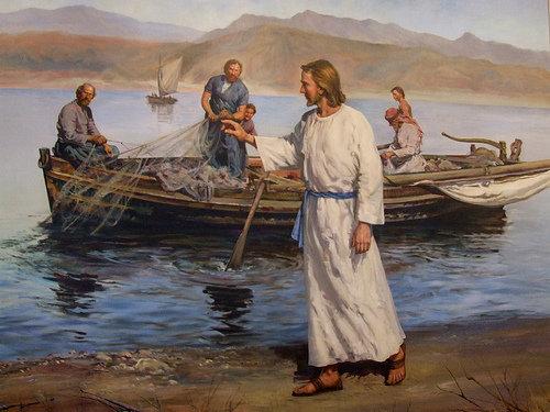Cristo y los pescadores.