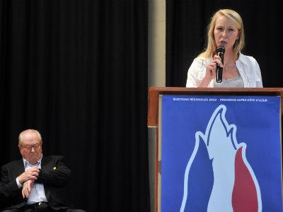 Marion Maréchal Le Pen, del Frente Nacional, se convierte en la parlamentaria más joven