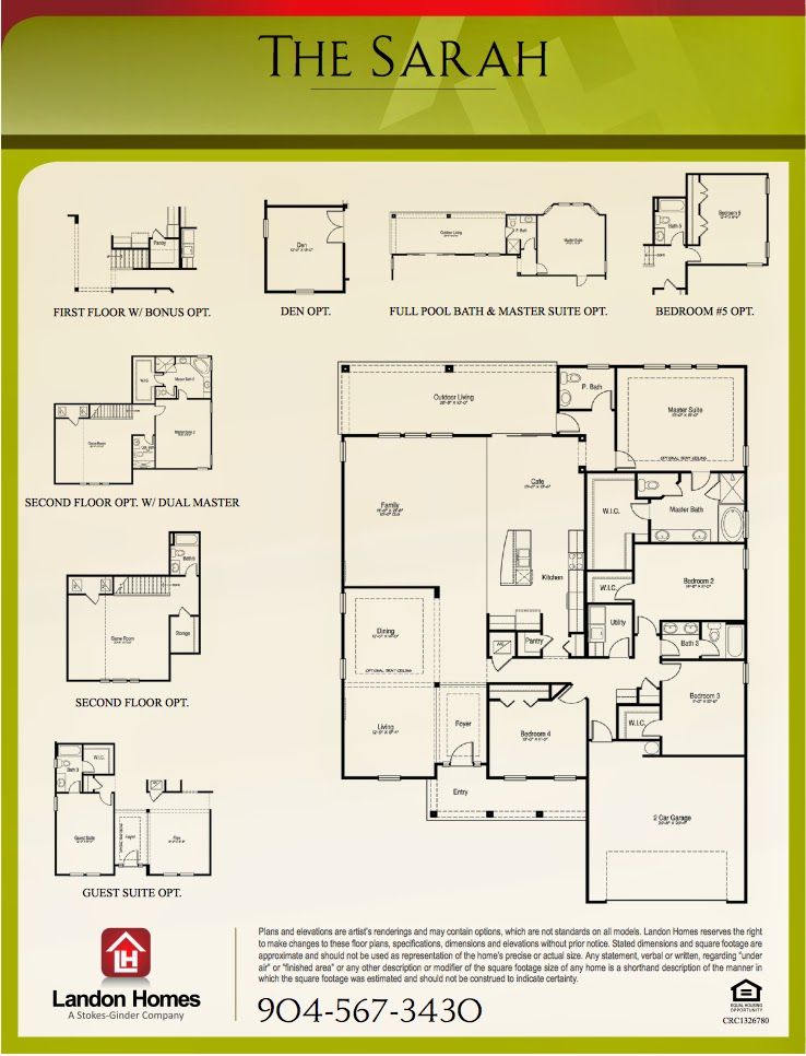 Landon homes make it just the right size featuring 39 the for Landon homes floor plans
