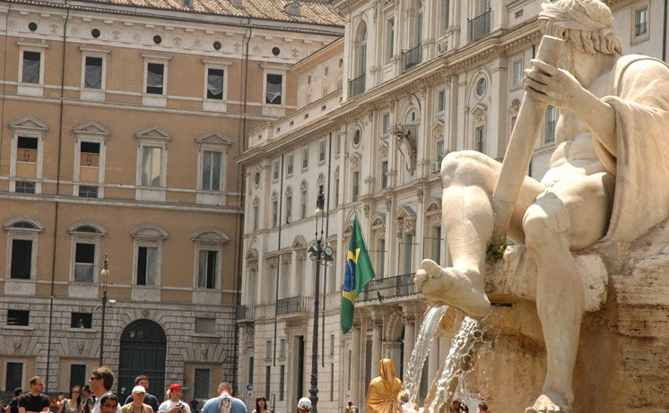 Praça Navona em Roma | Itália