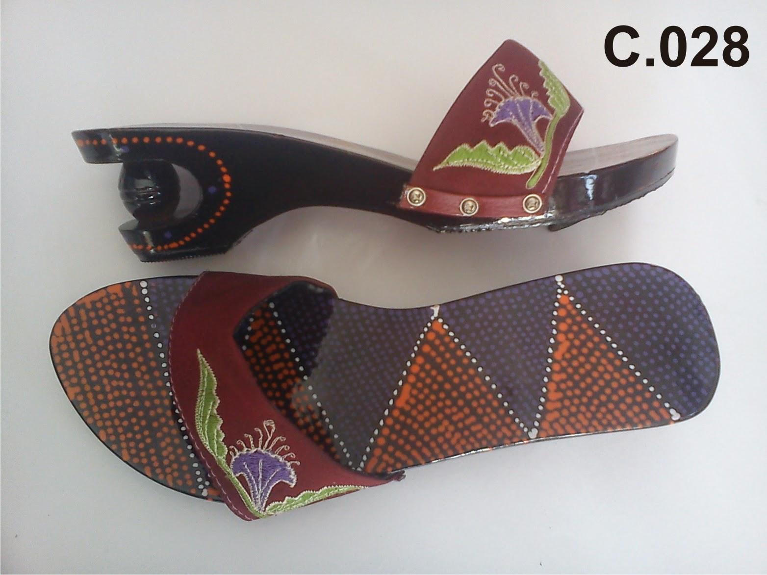 Sandal Wanita Kelom Geulis Tasikmalaya