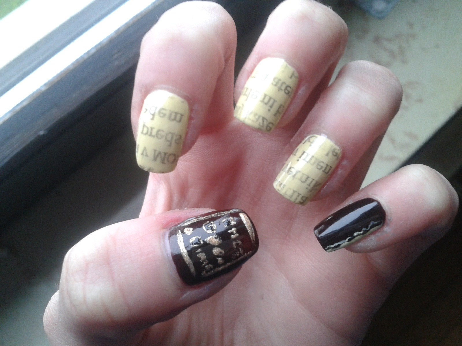 Always polished nails: Once Upon A Time nail art challenge ...