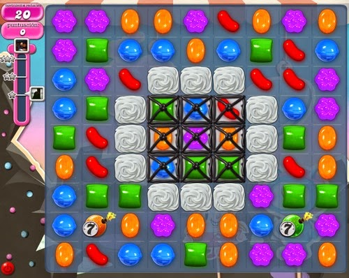 Nivel 99 de Candy Crush Saga