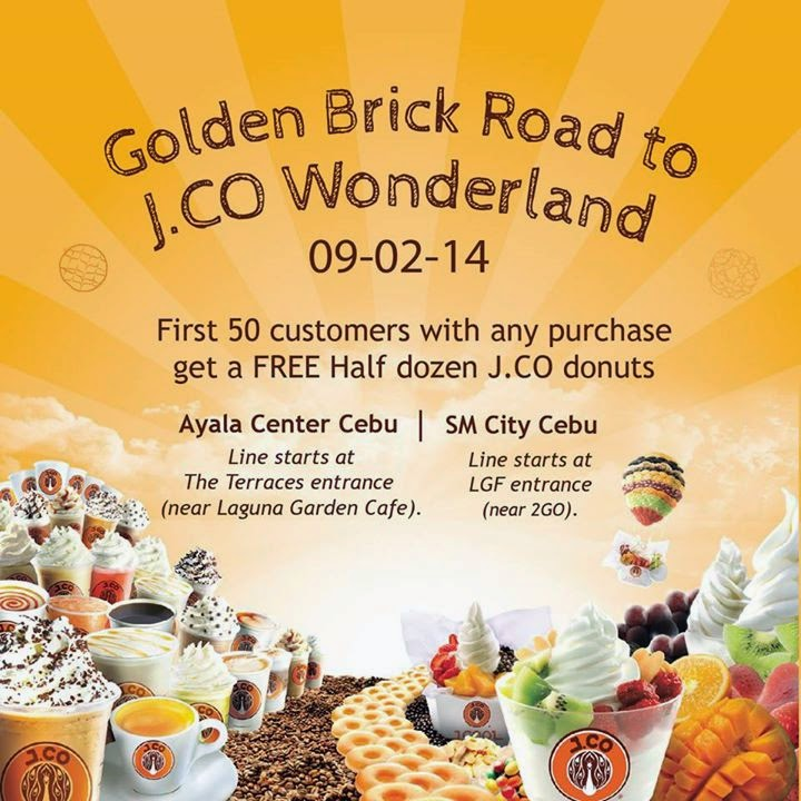 J.CO-Donuts-First-50-Promo-Cebu