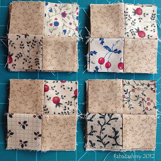 Part 1 Easy Street Quilt 4-patch