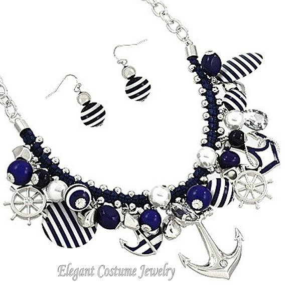 Navy Anchor Jewelry