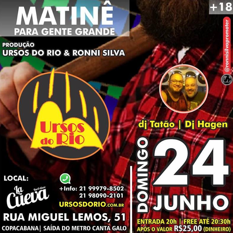 DOMINGO - 24/06 - 20H