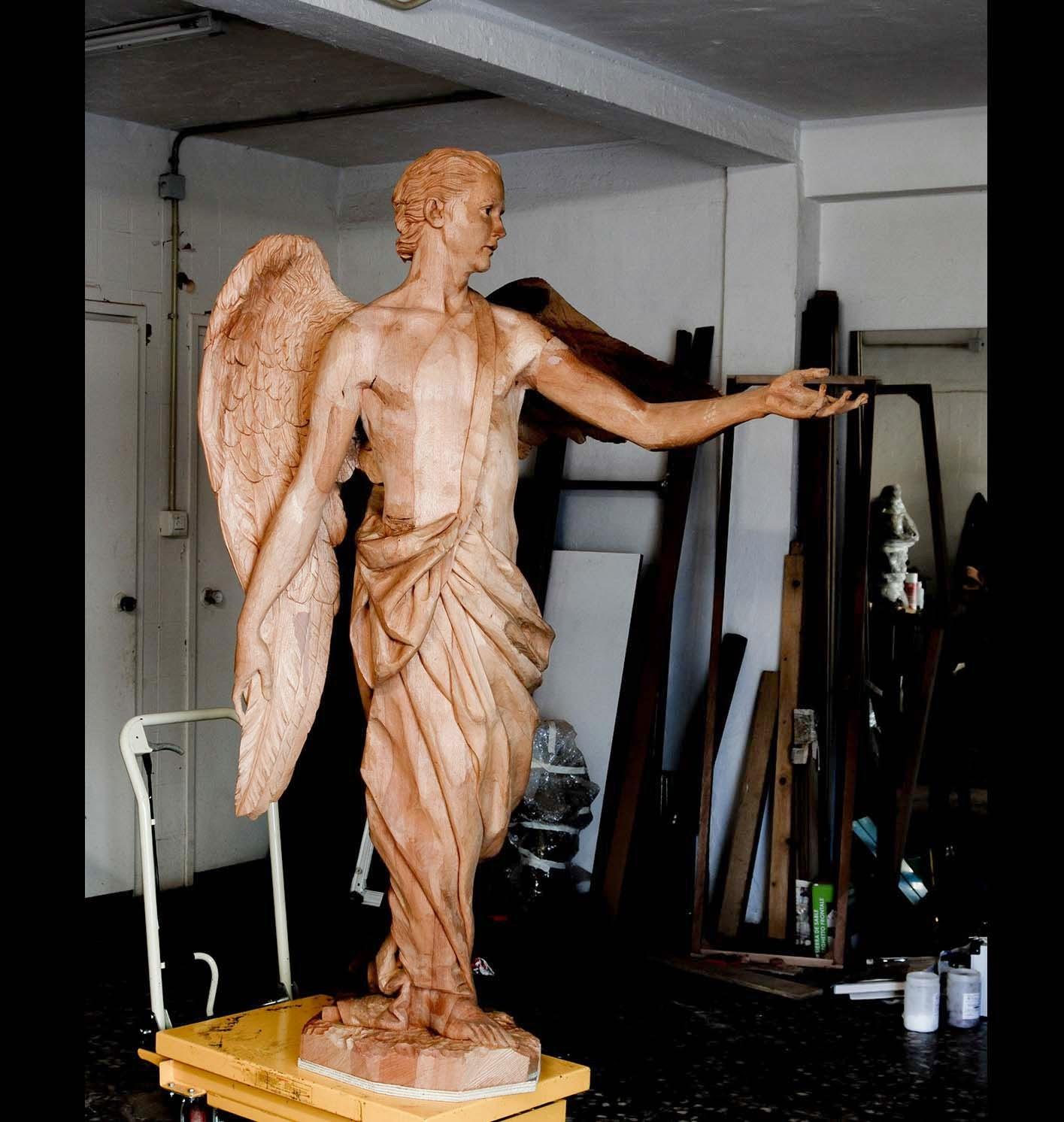 Angel Semana Santa Tobarra escultura 17
