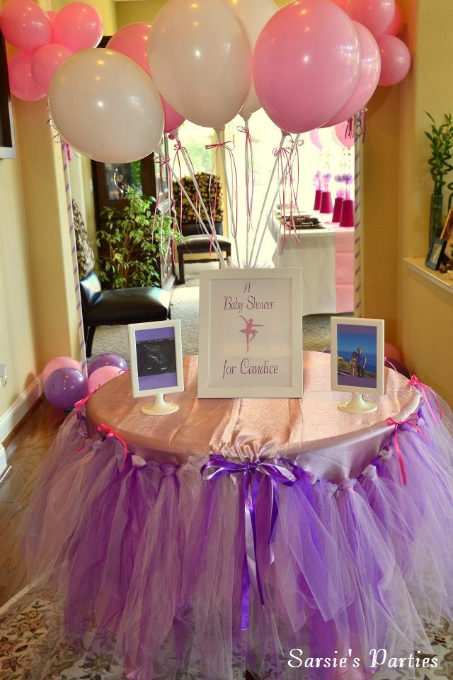 sarsie 39 s parties event styling and planning a ballerina baby shower