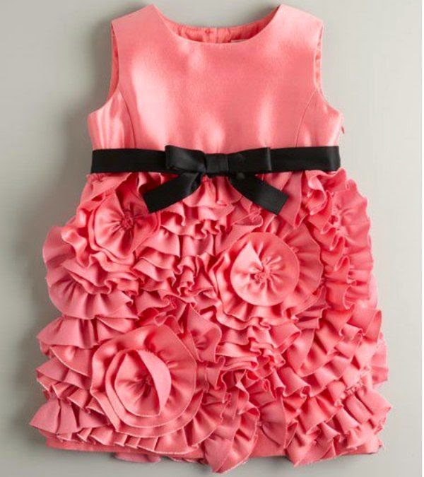 Contoh dress baju anak perempuan cute banget