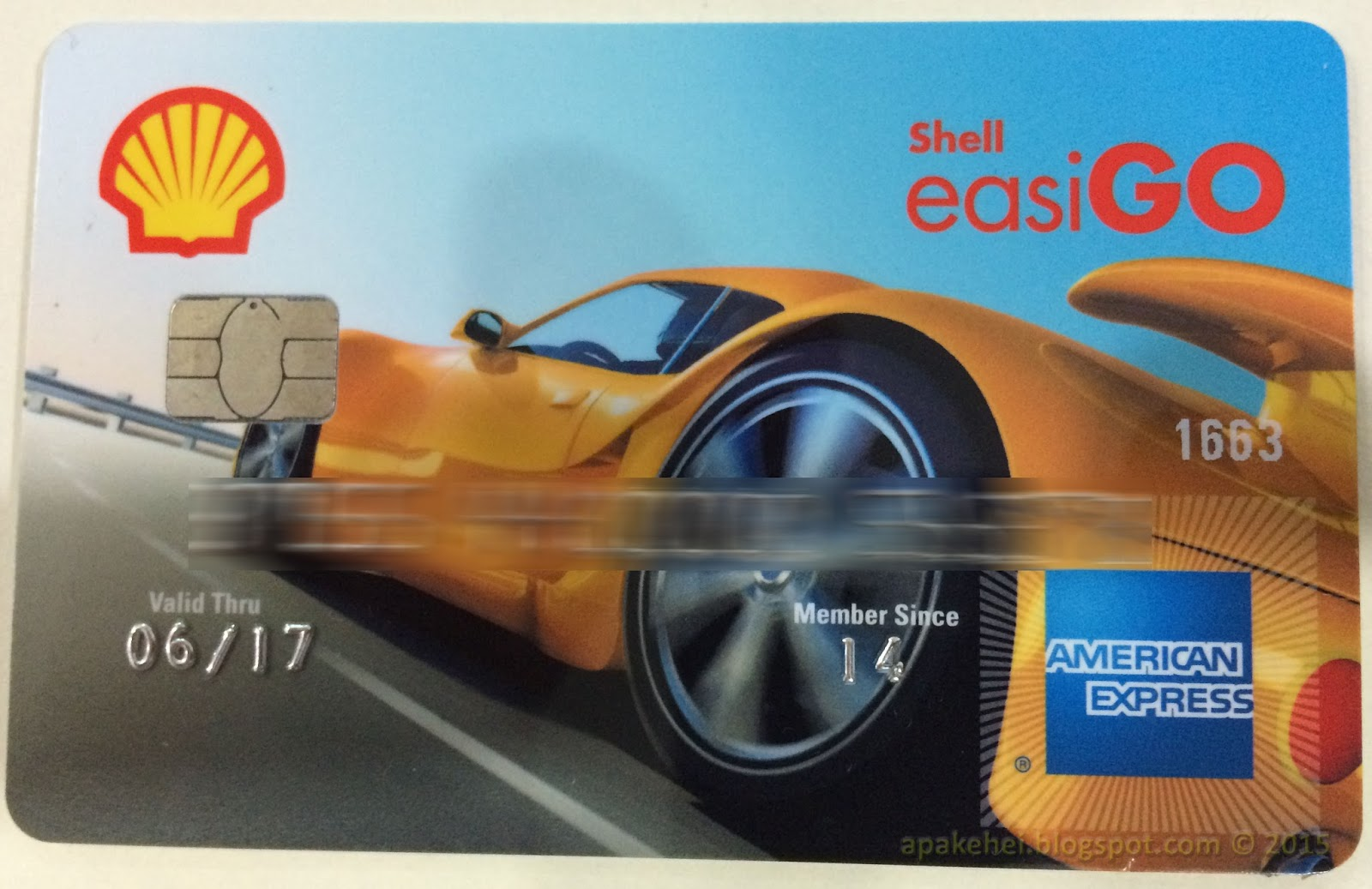 Shell easiGO Pre-Paid Card
