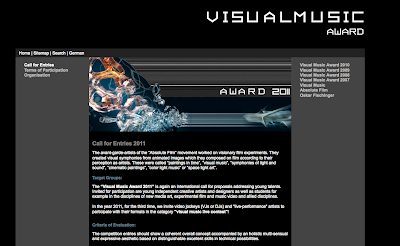 Call for Visual Music Works - VISUAL MUSIC AWARD