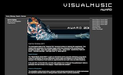 Call for Visual Music Works - VISUAL MUSIC AWARD