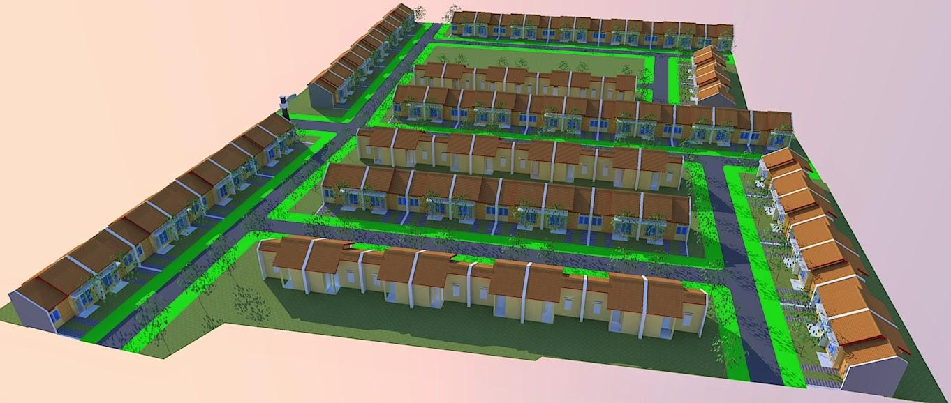 Site Plan Rumah Murah