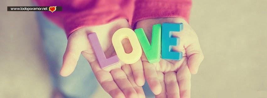 Portadas de amor con lindos diseños para Facebook