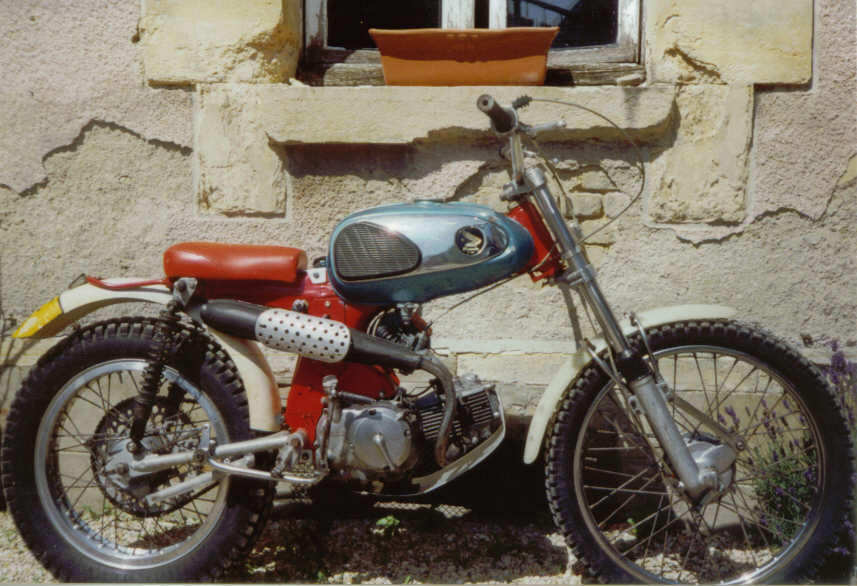 From 1965 To 70 The Honda Trials History