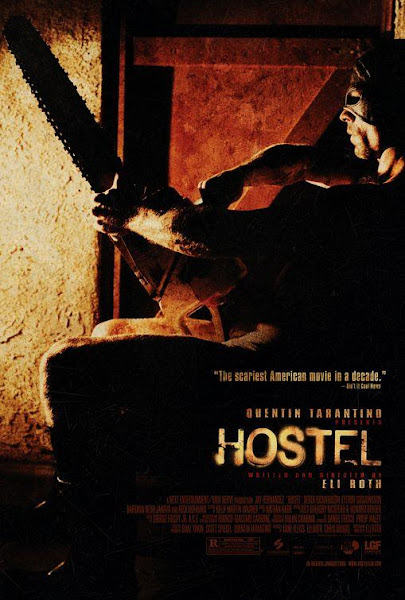 Poster Of Hostel 2005 UnRated 720p BRRip Dual Audio