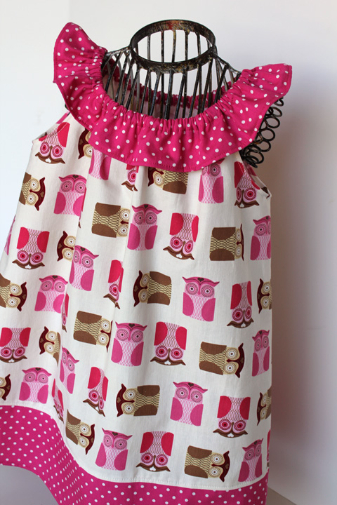 Cute Ideas For Pillowcase Dresses : hoot, hoot, so cute - girl. Inspired.