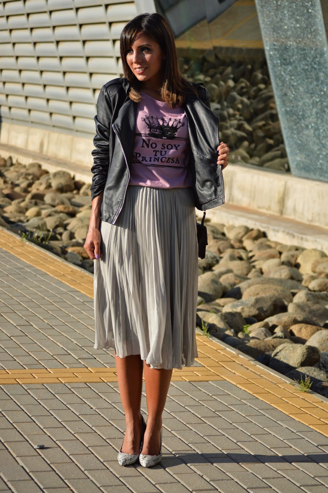 ootd street style style fashion fashion blogger malagueña blogger malagueña cristina style outfit look chic casual love me girl lovely mango spring swag desinger purse moda mood trend gorgeous styles stylish midi