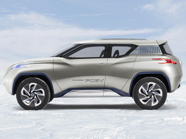 Cars News And Images Nissan Terra An Electric Concept Car