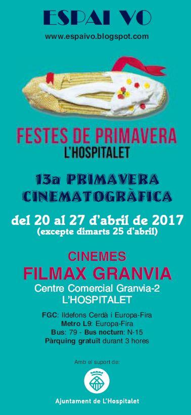 PROGRAMACIÓ 13a PRIMAVERA CINEMATOGRÀFICA
