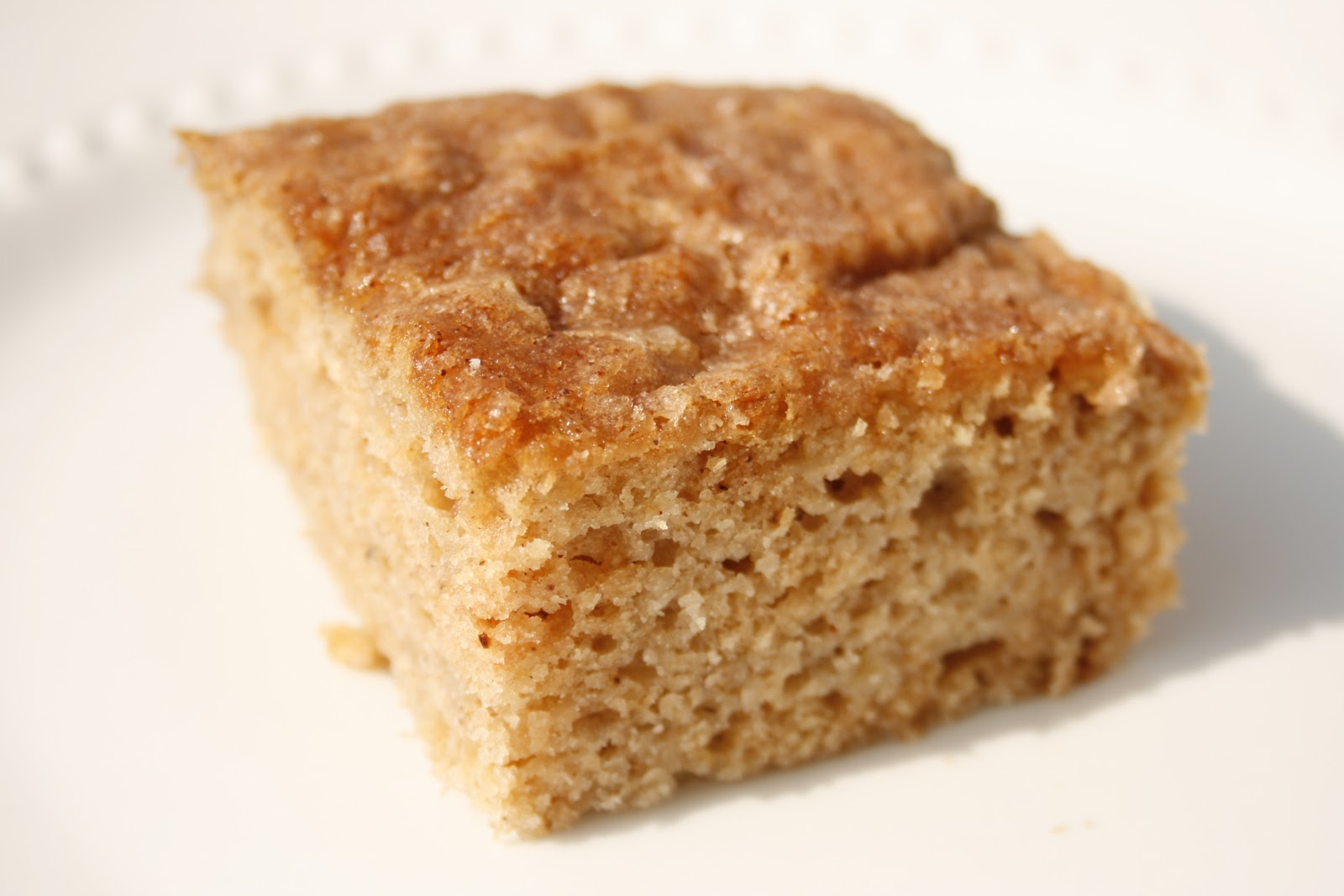 Recipe For Apple And Applesauce Spice Cake